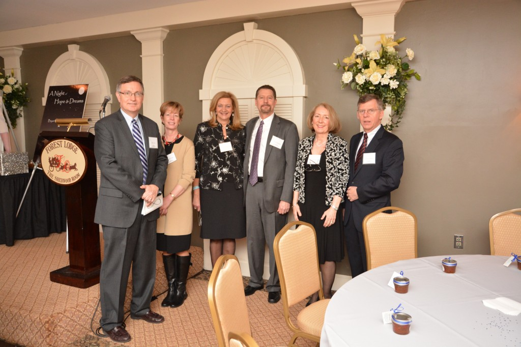 Bryan's Dream Board of Trustees Bill Coffin, Treasurer, Cyndi Drake, Nancy Opremcak, Tim Opremcak, Lorri Layton and Dave Tremblay, Trustees