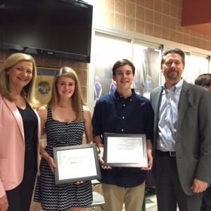 BTO 2015 Scholarship Winners: Regan Asay and Will Mahoney